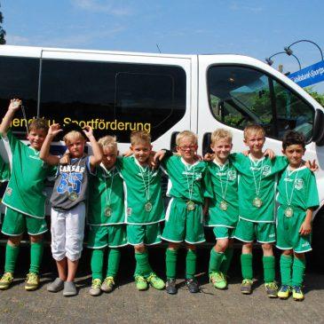 F-Jugend (U8) – 2. Platz in Niederkrüchten
