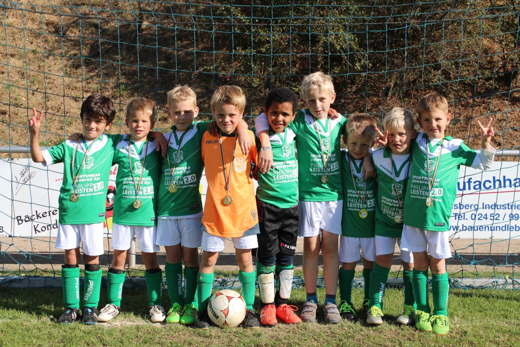 F-Jugend – 1. Platz in Wassenberg