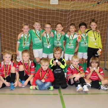 F-Jugend (U8 und U9) – 2. und 3. Platz beim Alliander Cup in Haaren