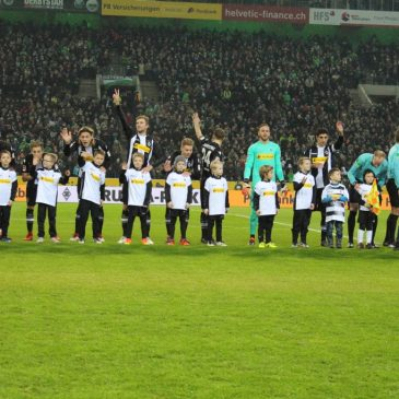F-Jugend – Unser Tag bei Borussia Mönchengladbach