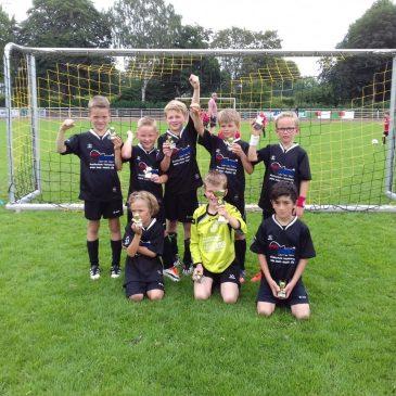 "F-Jugend – 2. Platz beim ""Energie-Cup"" in Oberbruch"