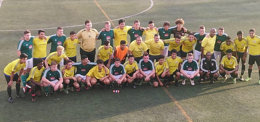 A-Jugend nach der ersten Partie in Spanien