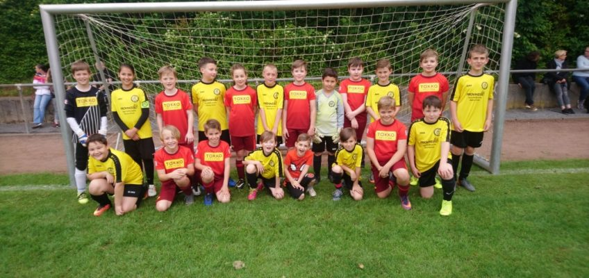 E1-Jugend mit VfL Übach-Boscheln
