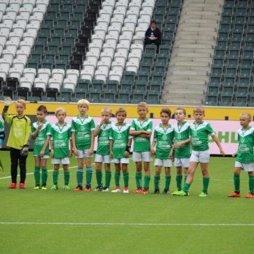 F-Jugend (U9) – Unser Tag bei Borussia Mönchengladbach