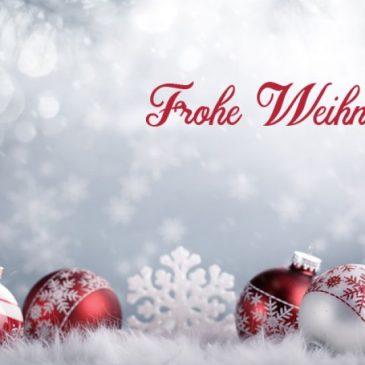 Weihnachtsgruß und Neujahrswünsche 2021