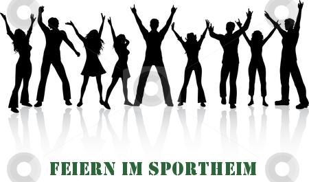 Feiern im Sportheim